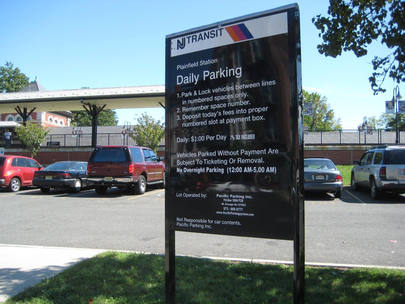 plainfield parking