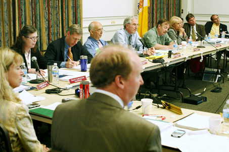 Highlands Council meeting.  Source: nj.com