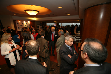 A scene from the 2009 Smart Growth Awards at the Newark Club