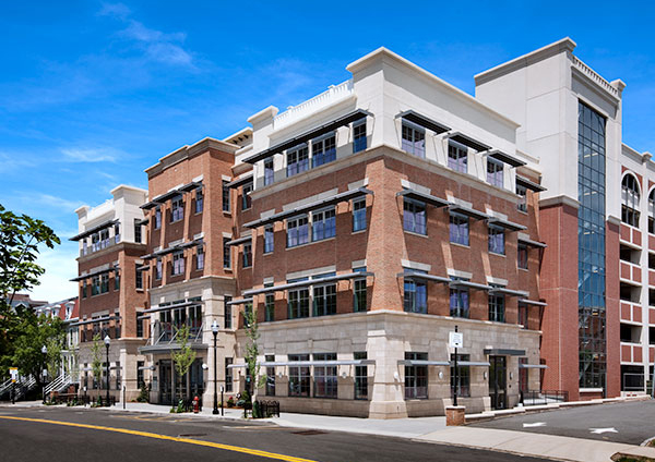 Green building strategies find a home in downtown for Building a house in nj