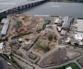 aerial photo of bayshore recycling