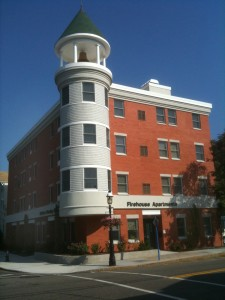 The Barbara W. Valk Firehouse Apartments in Madison, NJ.