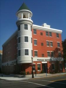 The Barbara W. Valk Firehouse Apartments in Madison, NJ.