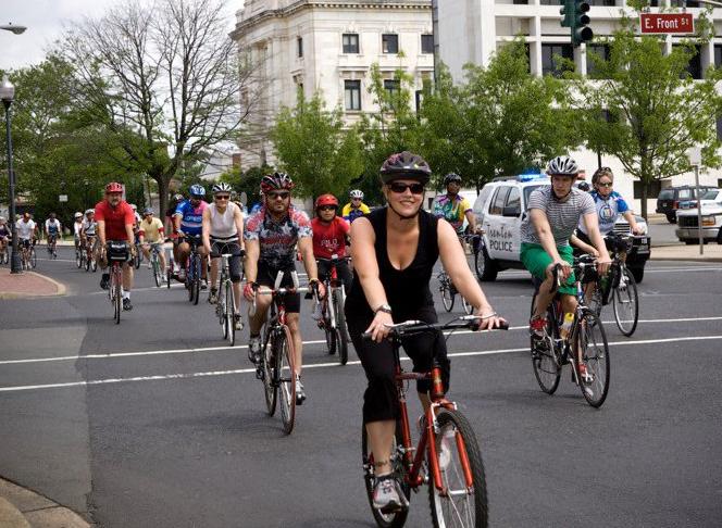 Biking in Trenton