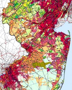 New Jersey state plan map