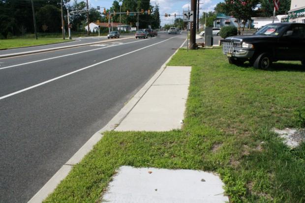 Route 47 in Pitman
