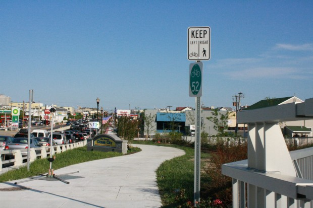 Ocean City bike-walk
