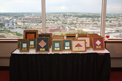 Smart Growth Awards are framed by Artifacts Gallery in Trenton, NJ