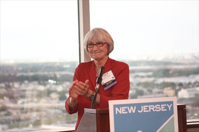 2012 Smart Growth Awards Jury Chair Ingrid Reed congratulates all the winners
