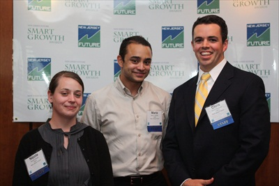2012 New Jersey Future interns: Nicole, Mario and Chris