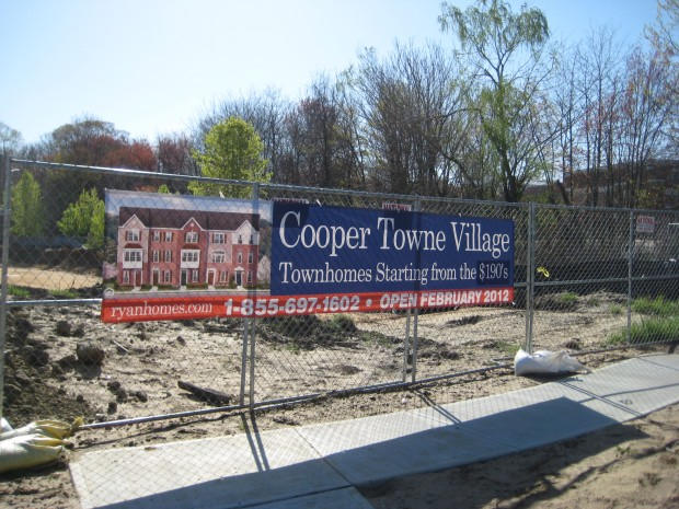 Cooper Towne Center future housing