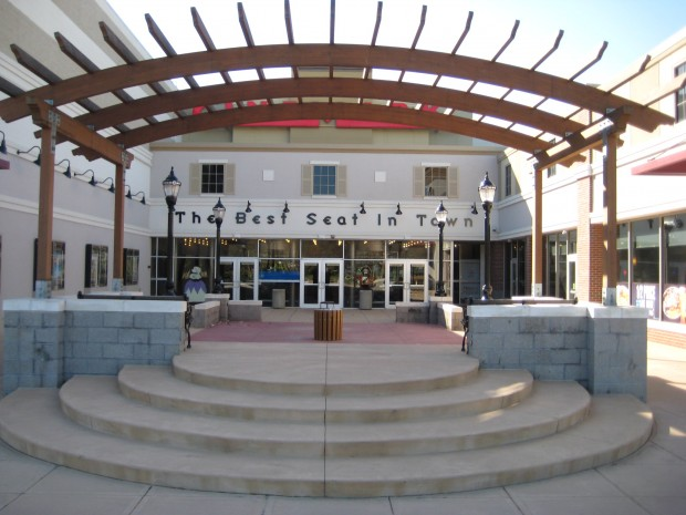 Cooper Towne Center movie theater entrance