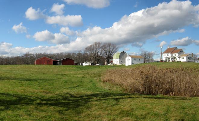 Farmland in N. Hanover. Photo: Nicole Heater