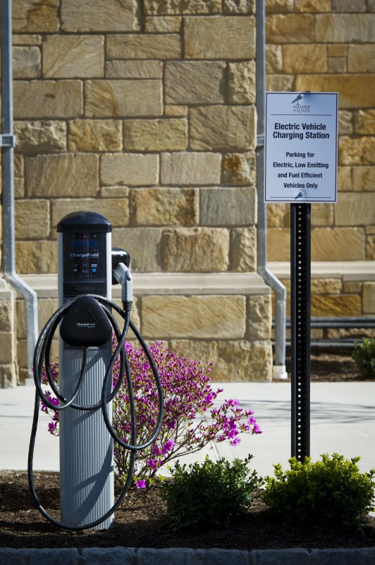 HS - Exterior - Charging Station