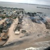 U.S. Air Force photo of Sandy damage to the Jersey Shore.
