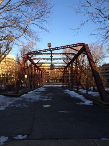 Jackson Street pedestrian bridge in Trenton, NJ. (Credit: NJ Future)
