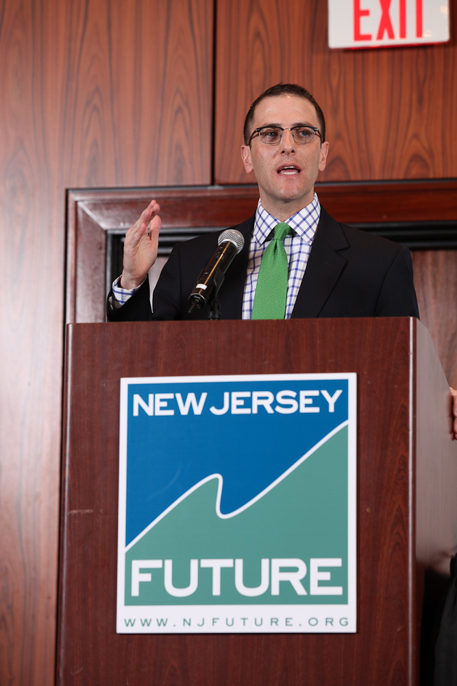 Seth Pinsky during his keynote at the Redevelopment Forum.
