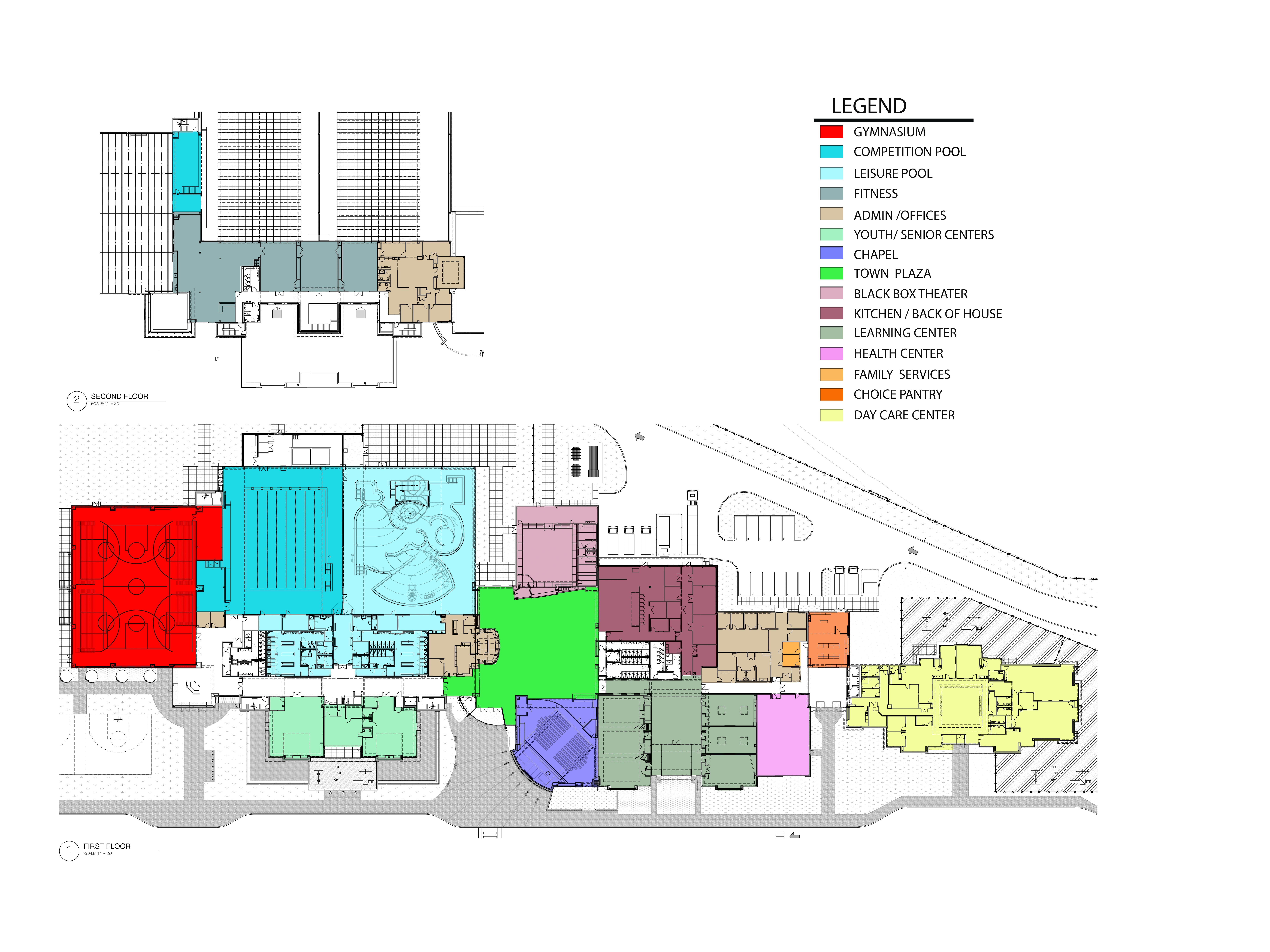Overall Plan - Kroc Community Center