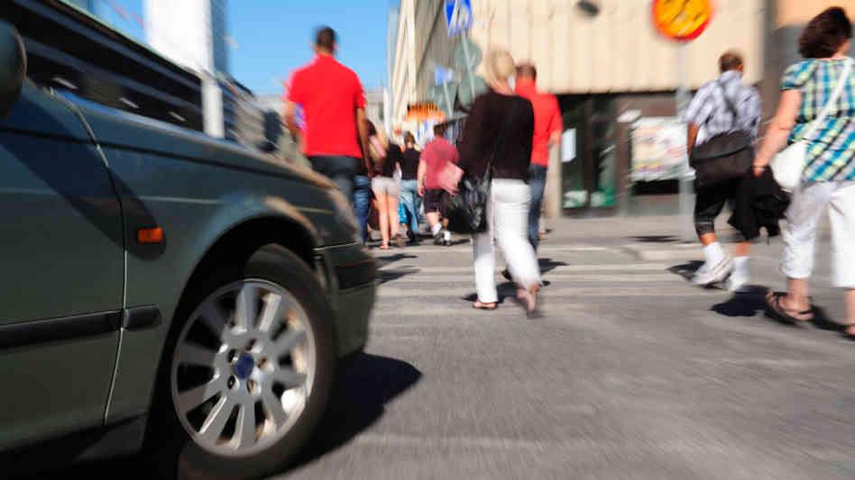 Pedestrians in traffic2