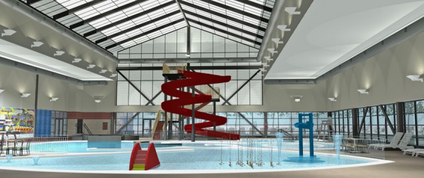 Indoor Waterslide - Kroc Community Center