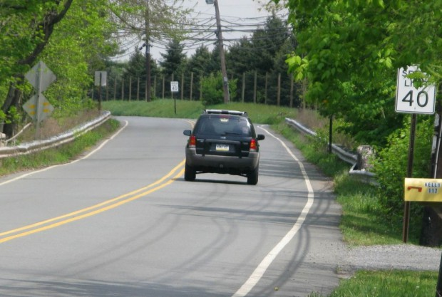 Hopewell Complete Streets - CR518 before