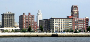 The Camden waterfront, where Lockheed Martin will be relocating. Photo: Flickr user Todd Mecklem