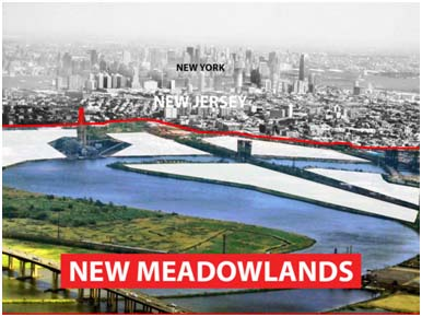 new meadowlands project under way new jersey future