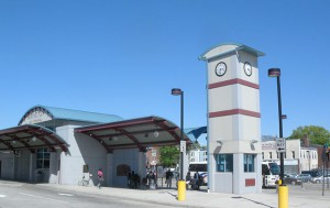 Irvington's bus terminal. Photo: Jim Henderson