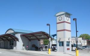 Irvington's bus terminal. Photo: Jim Henderson