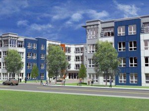 The Cobalt, a proposed apartment development near the Somerville train station. Photo: Weiss Properties