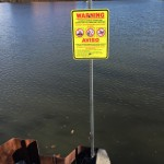 Sewage Overflow Warning Signs Popping Up