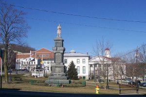 Newton's town square