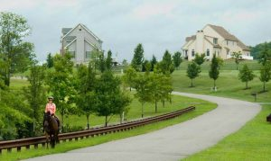 """Fiscal zoning"" encourages towns to require large lots for residential development. Photo courtesy of NJTPA"