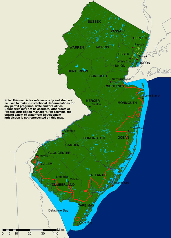 Population Trends At The Jersey Shore 1  New Jersey Future