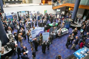 Attendees at 2019 Redevelopment Forum exhibits