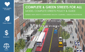 Screenshot of NJDOT Complete and Green Streets Model Policy