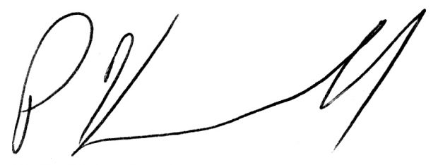 Pete Kasabach signature
