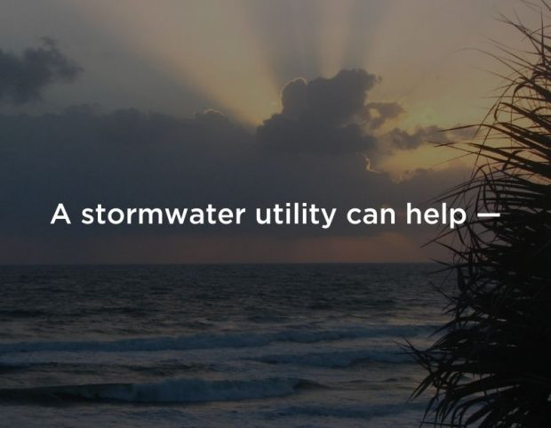 A stormwater Utility can help